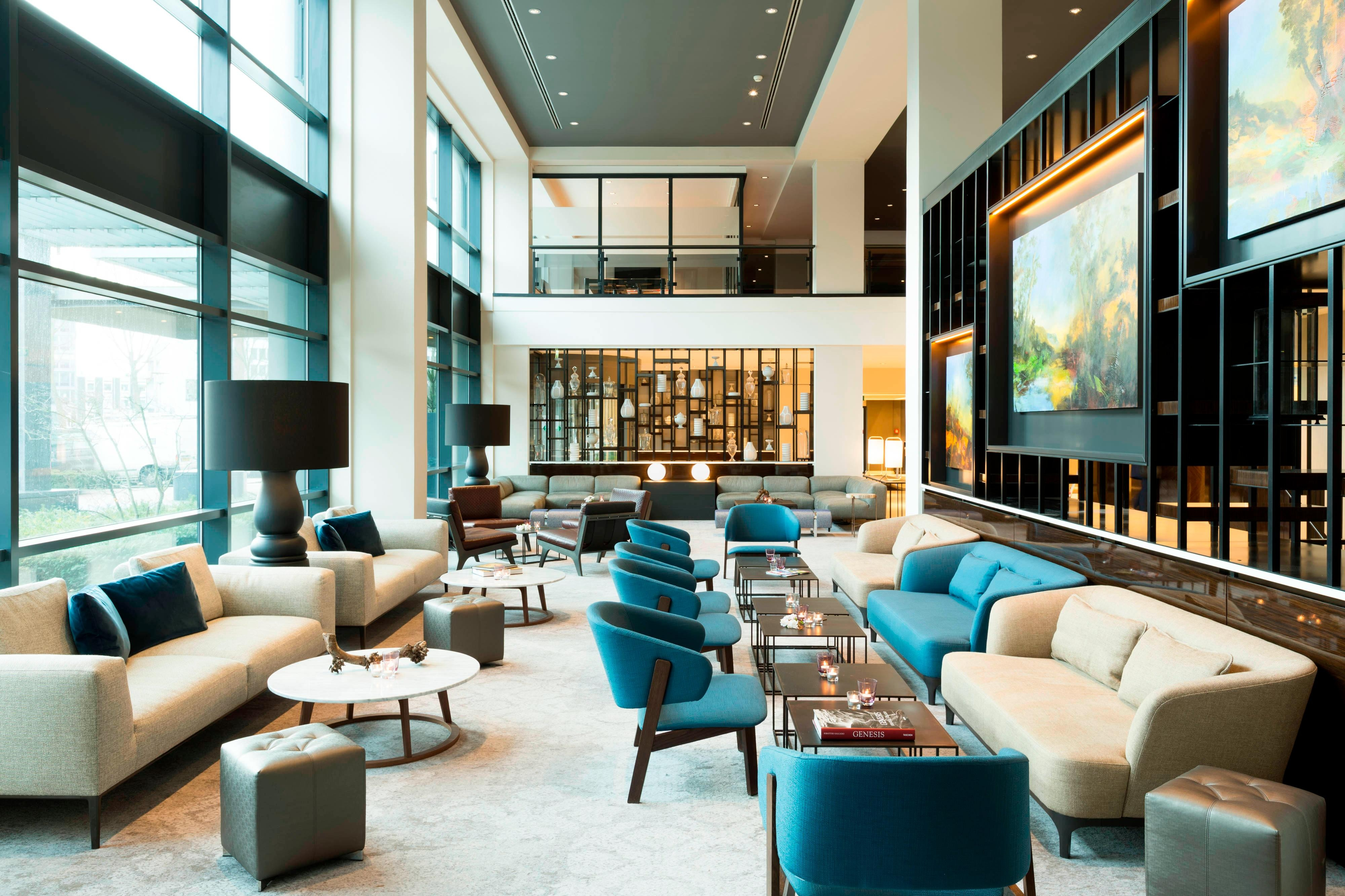 Área do lobby/bar – The Hague Hotel