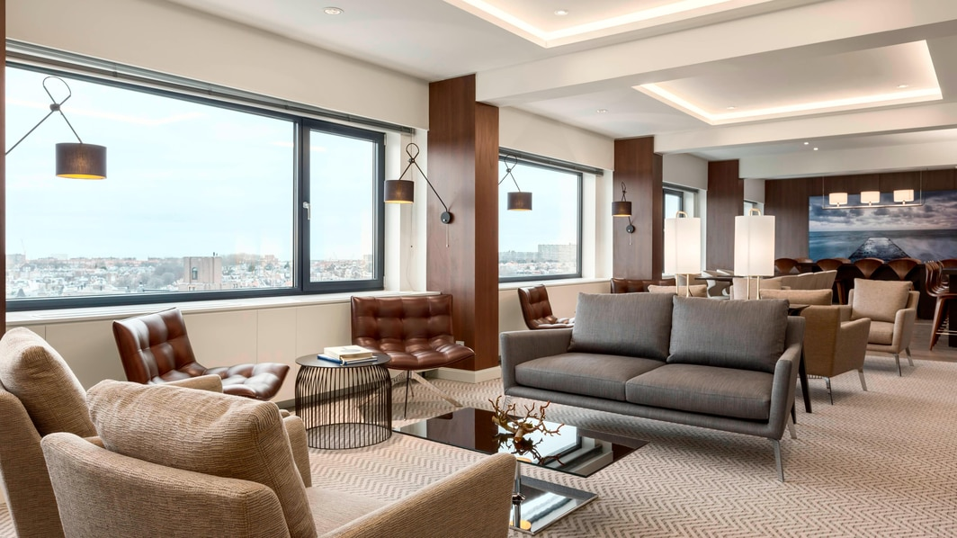 Hotel executive lounge The Hague