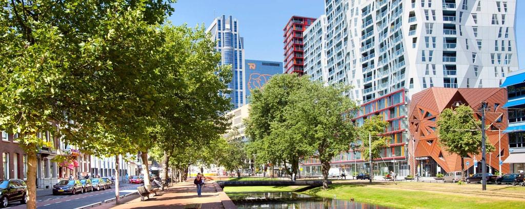 Westersingel, Rotterdam-à proximité du The Manhattan Hotel Rotterdam