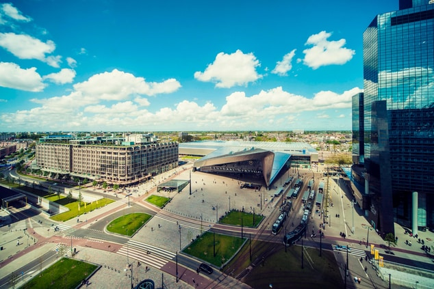 The Manhattan Hotel Rotterdam - View from the Executive Lounge
