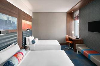 Aloft Twin Room