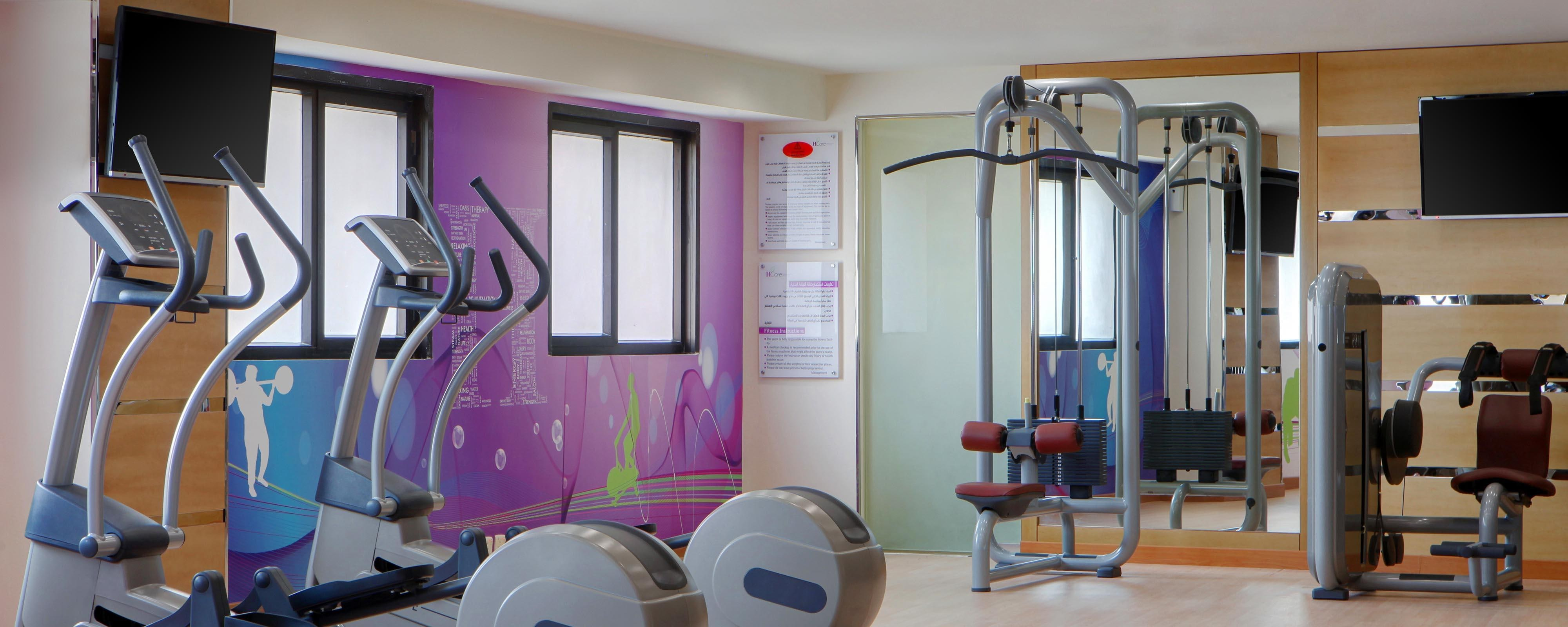 Hotel gym recreation four points by sheraton riyadh khaldia