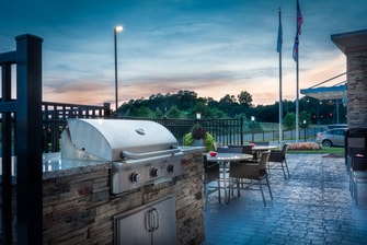Outside Grilling Area