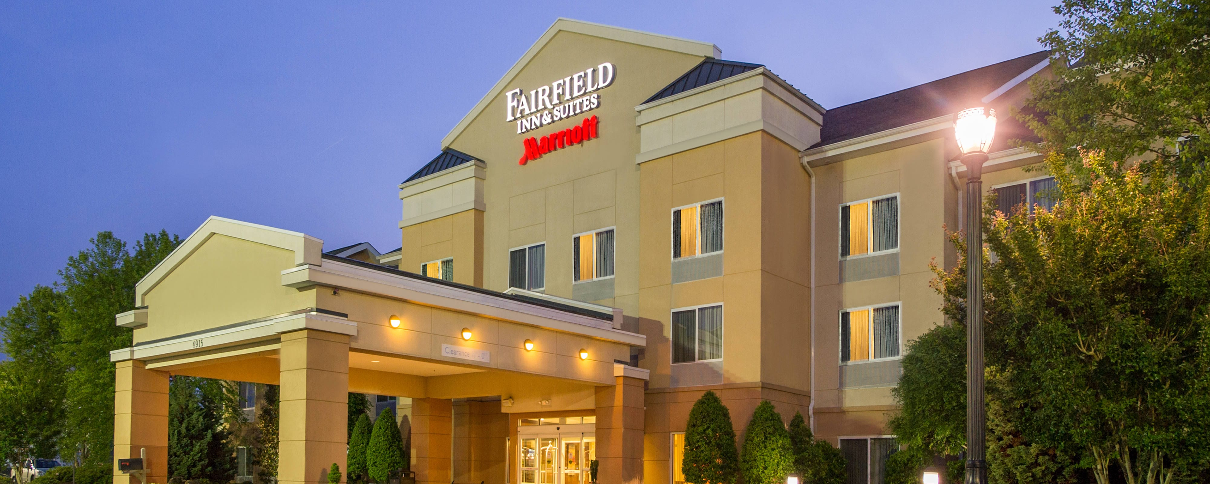 Hotel Suites in Wilson, NC | Fairfield Inn & Suites