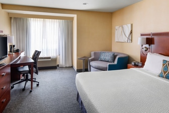 King Guest Room - Courtyard Sacramento Cal Expo