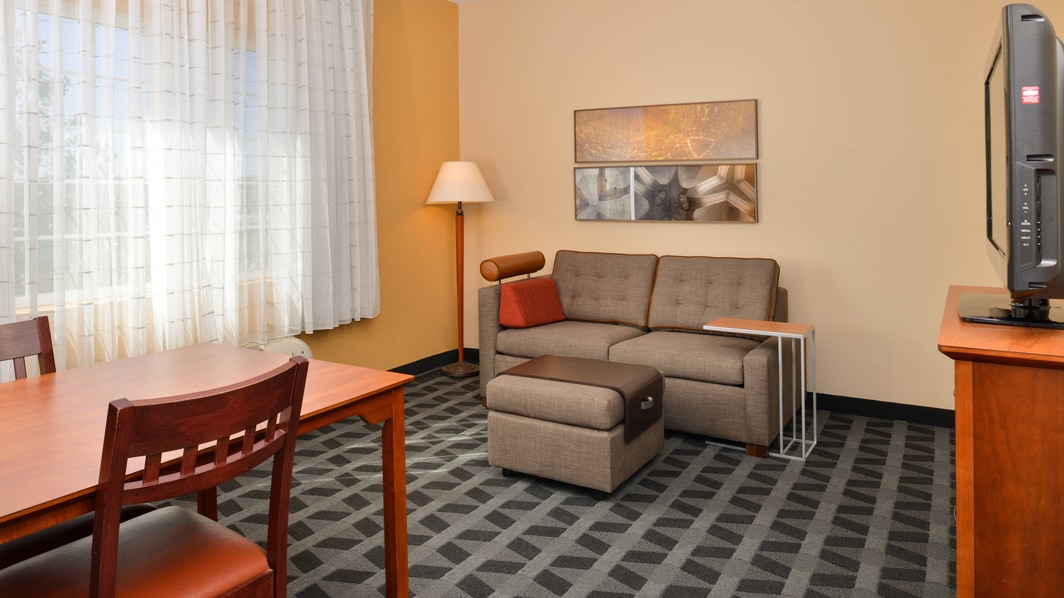 TownePlace Suites One-Bedroom Suite Living Room
