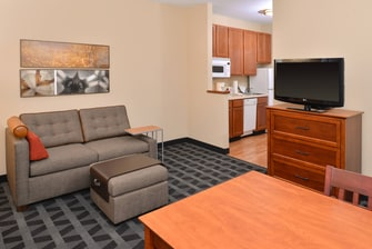 TownePlace Suites Suite - Living Area