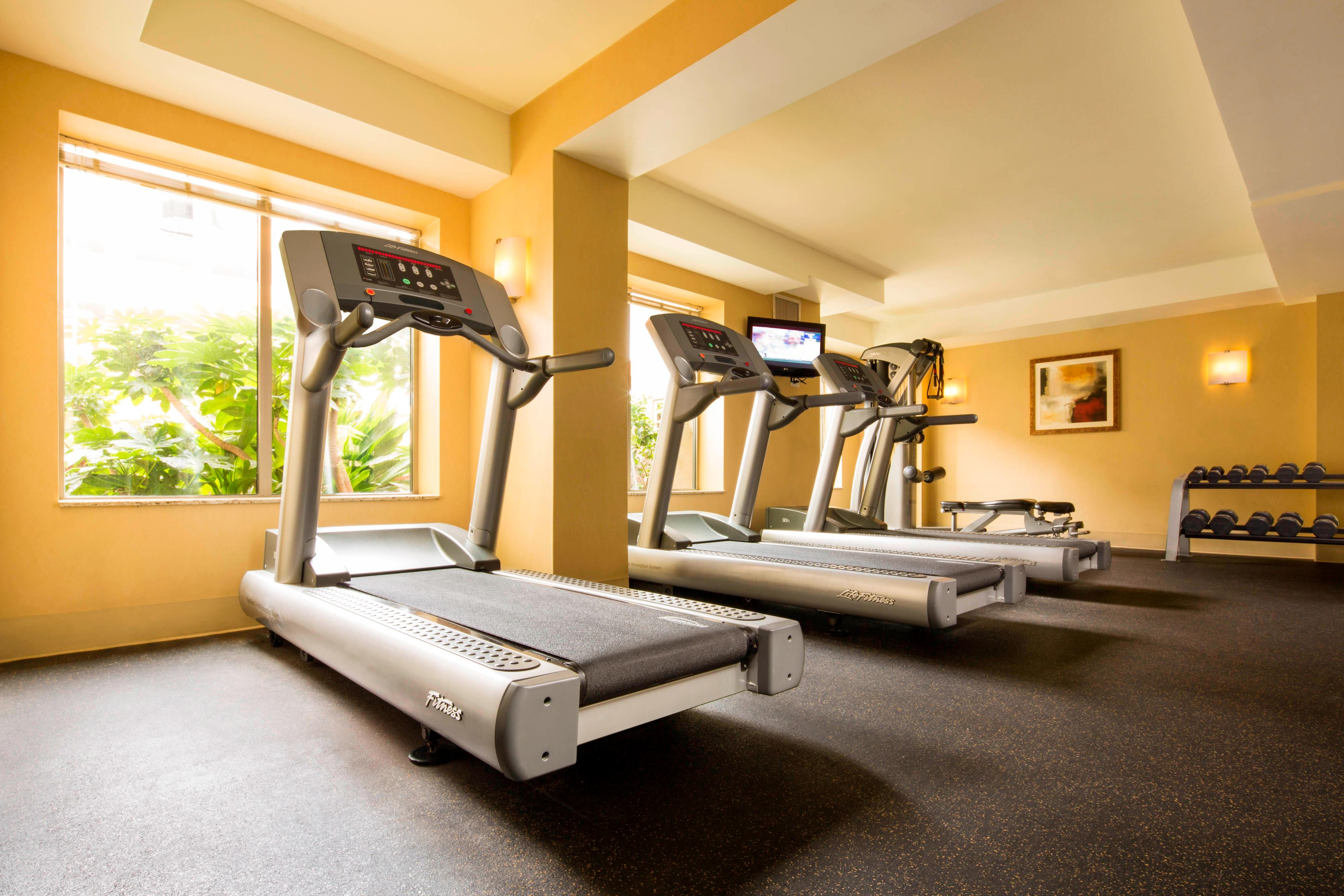Residence Inn Downtown Sacramento Fitness Center