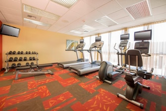 Folsom California Hotel Fitness Center