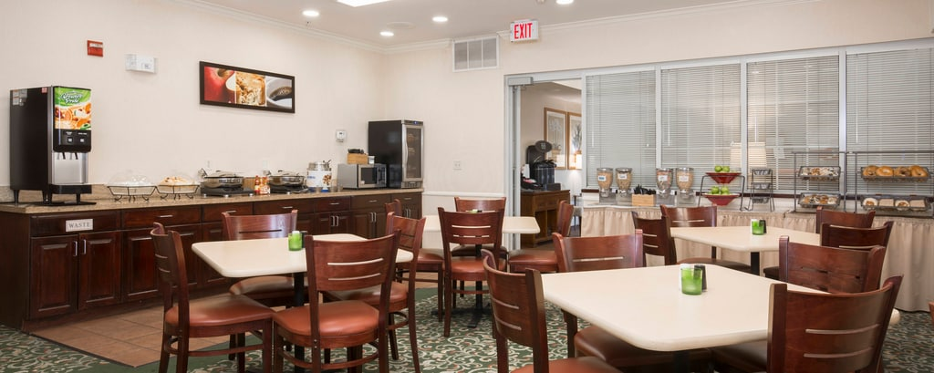 Roseville California Hotel Free Breakfast