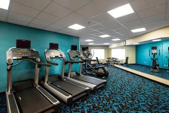 Folsom hotel fitness center