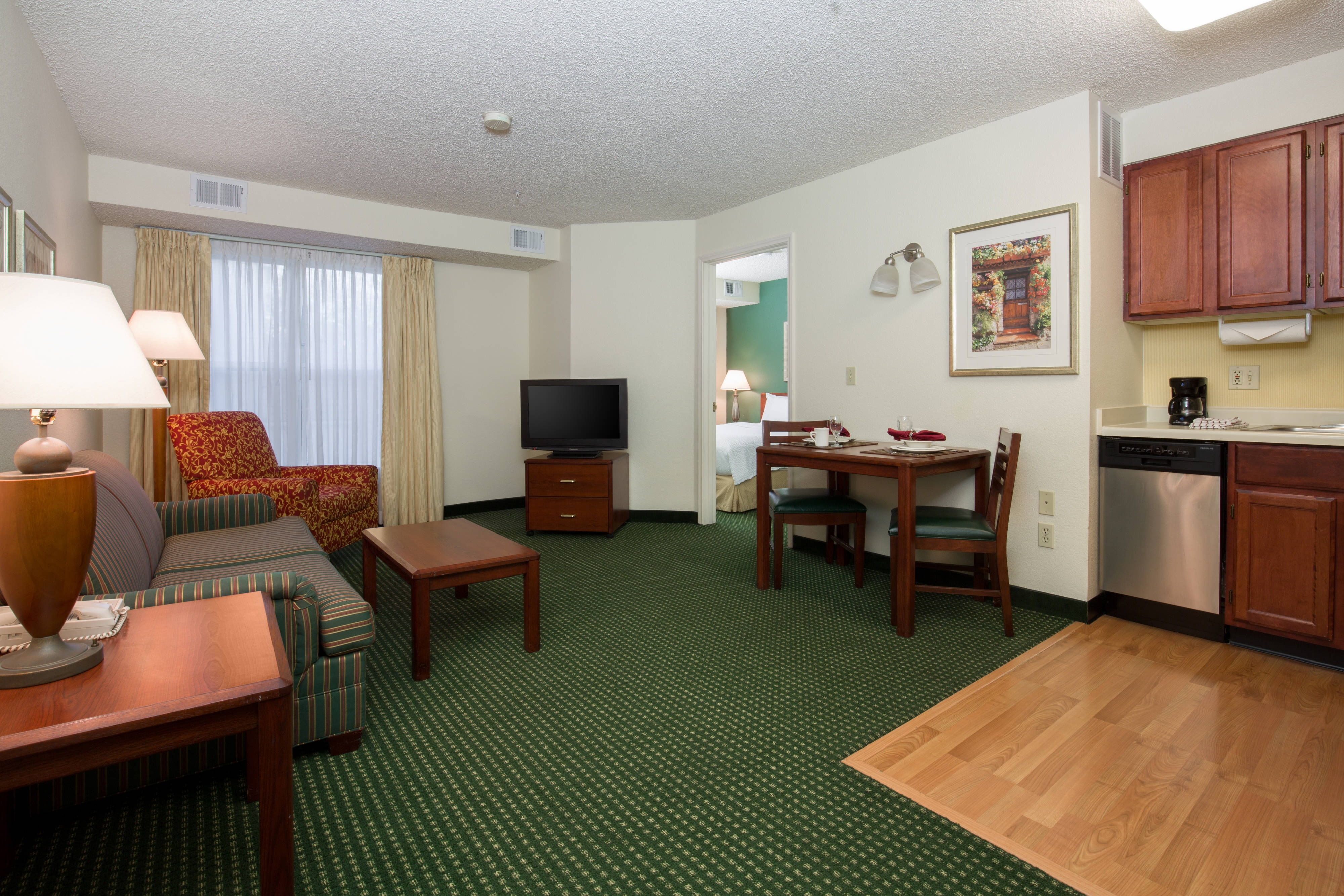Roseville California Hotel One Bedroom