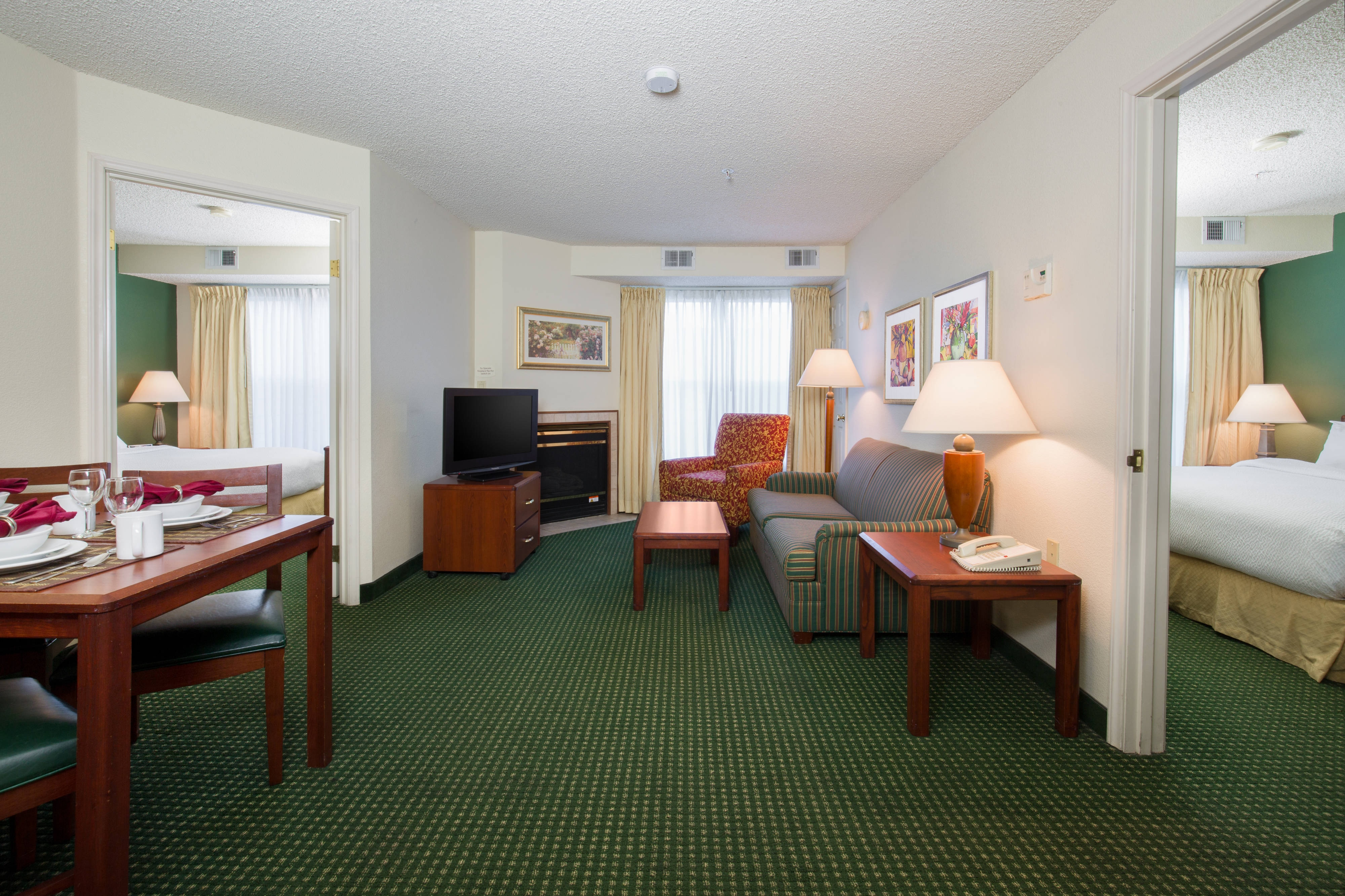 Roseville California Hotel Two Bedroom