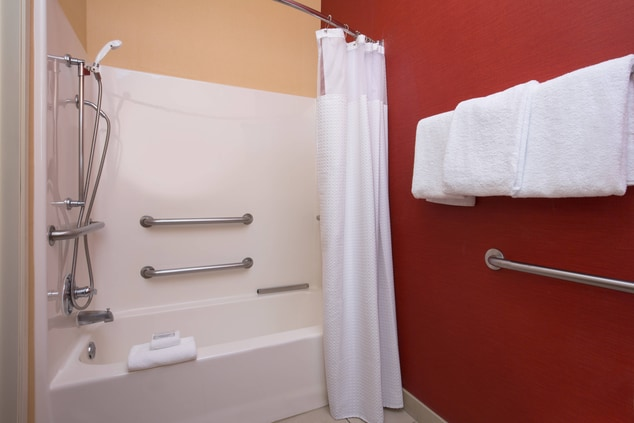 Roseville California Hotel Accessible Bathroom
