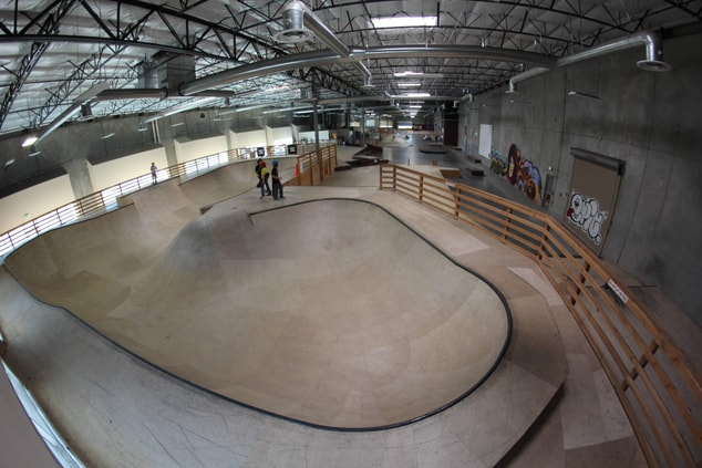 Epic Indoor Skatepark