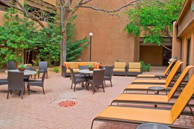 Breathtaking exteriors at our Santa Fe Hotel