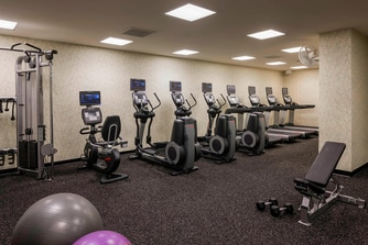 San Diego hotel fitness center