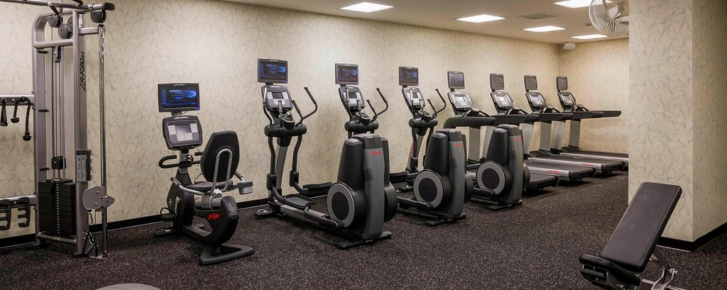 Fitnesscenter des Hotels in San Diego