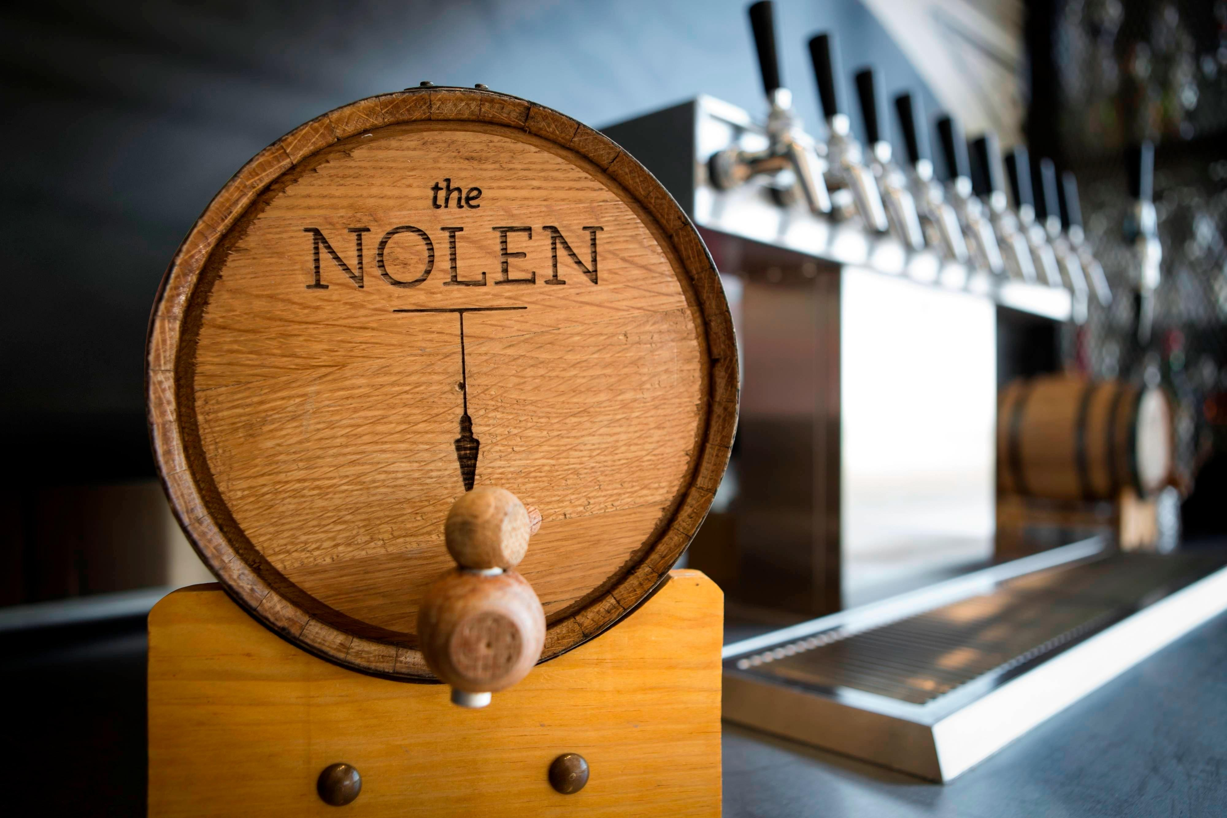 Nolen Rooftop Lounge Barrel Aged Cocktails