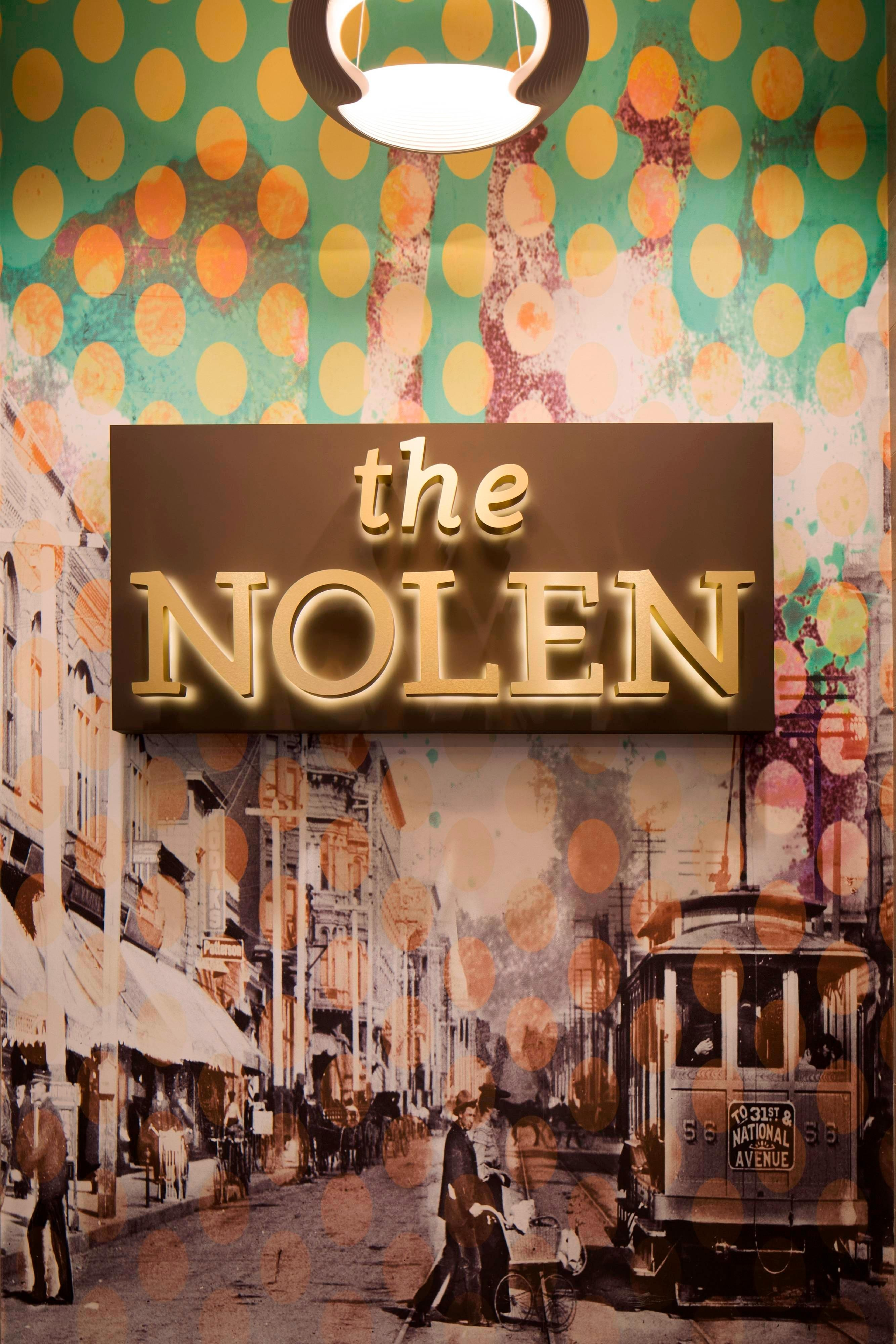 The Nolen Entrance Décor