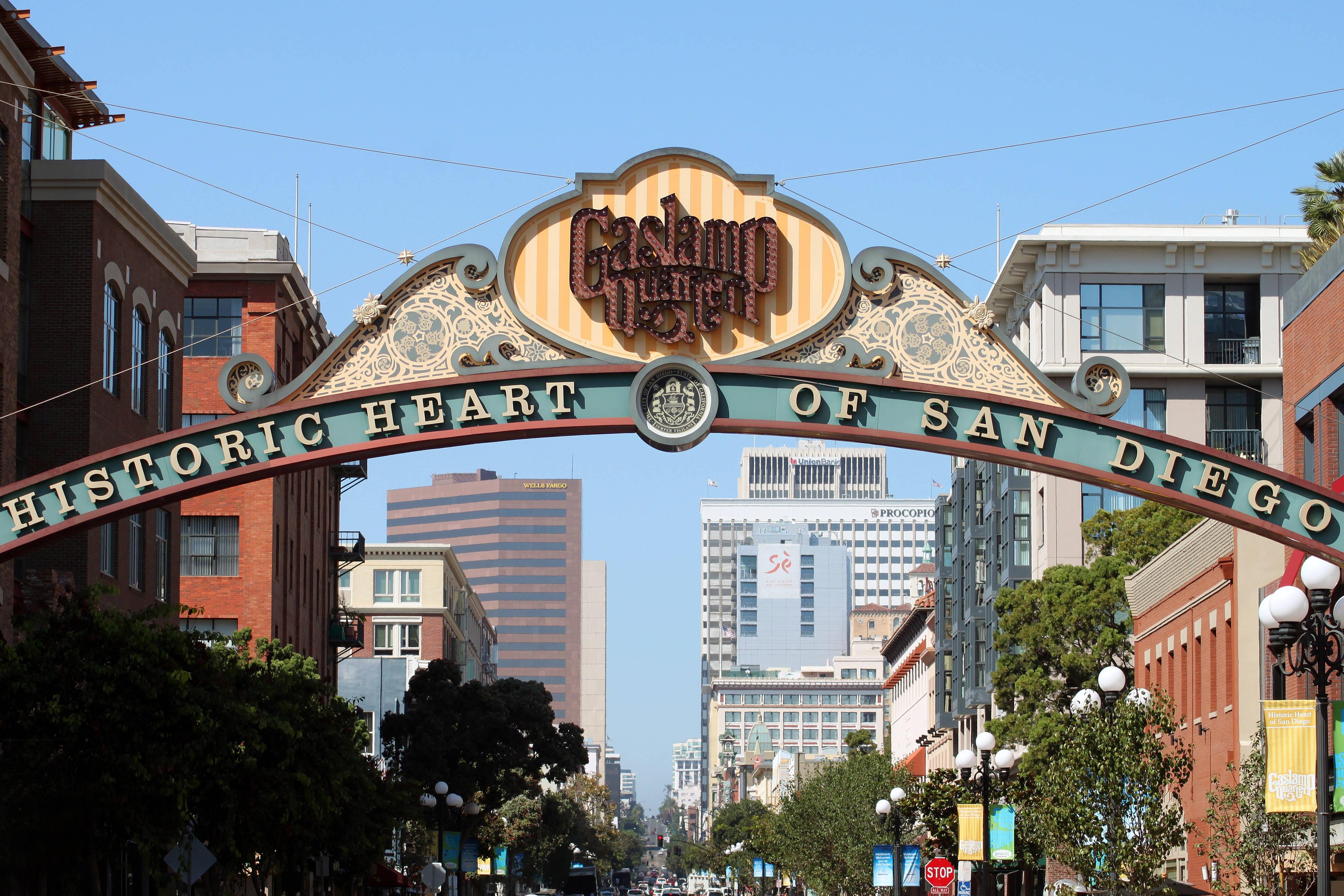 San Diego Gaslamp near Hotel