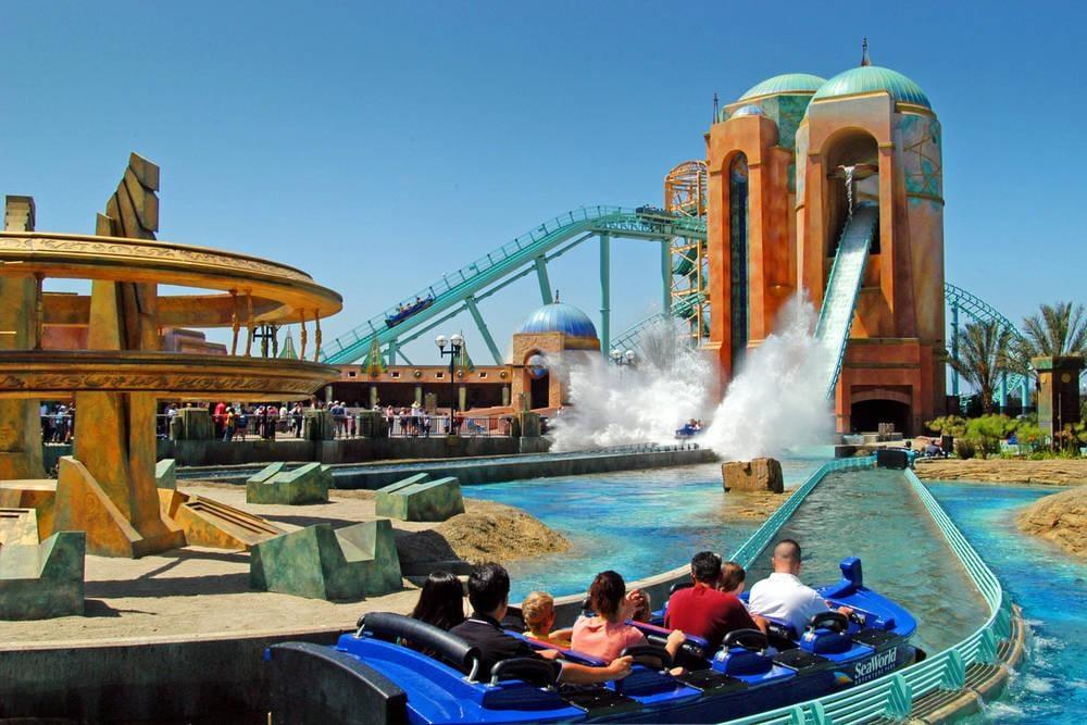 Parque temático SeaWorld en San Diego
