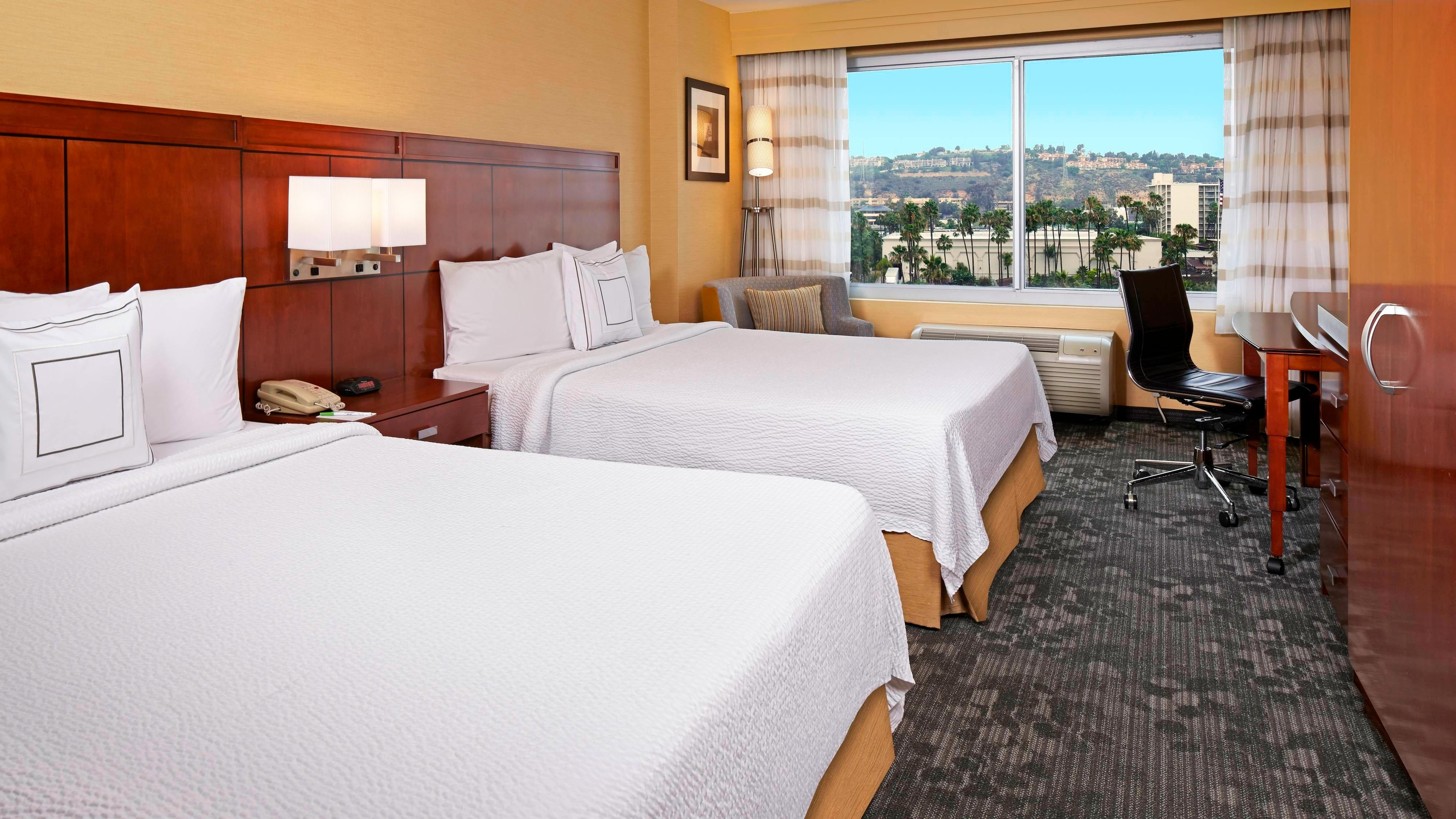 Mission Valley hotel room