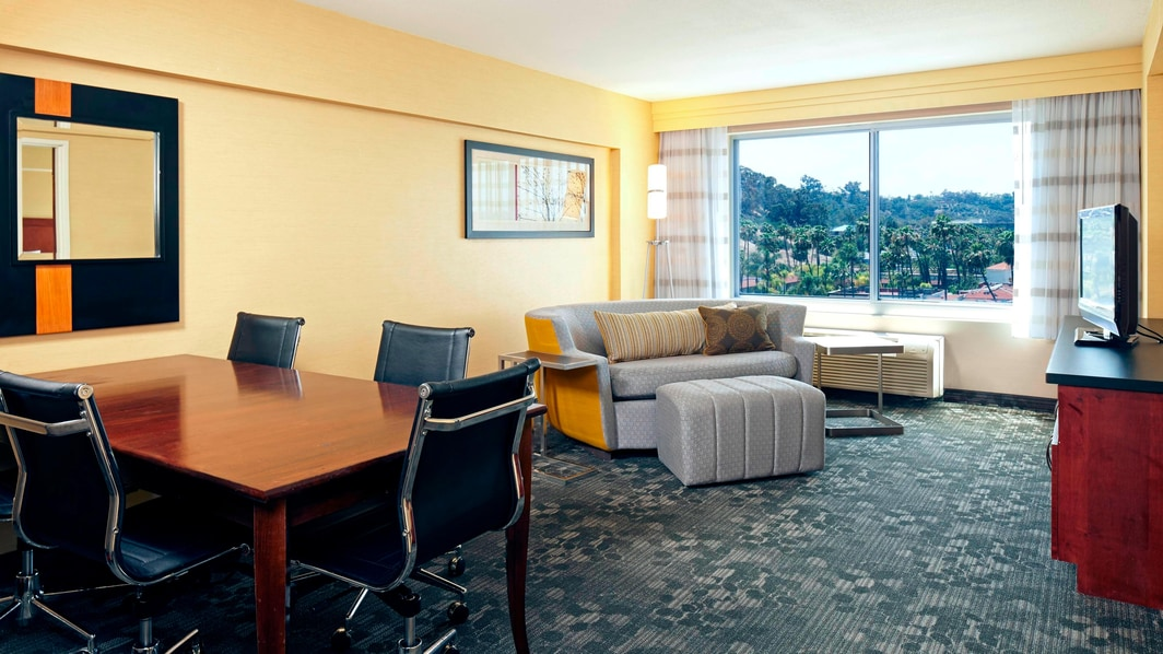 Hotel suite in Mission Valley