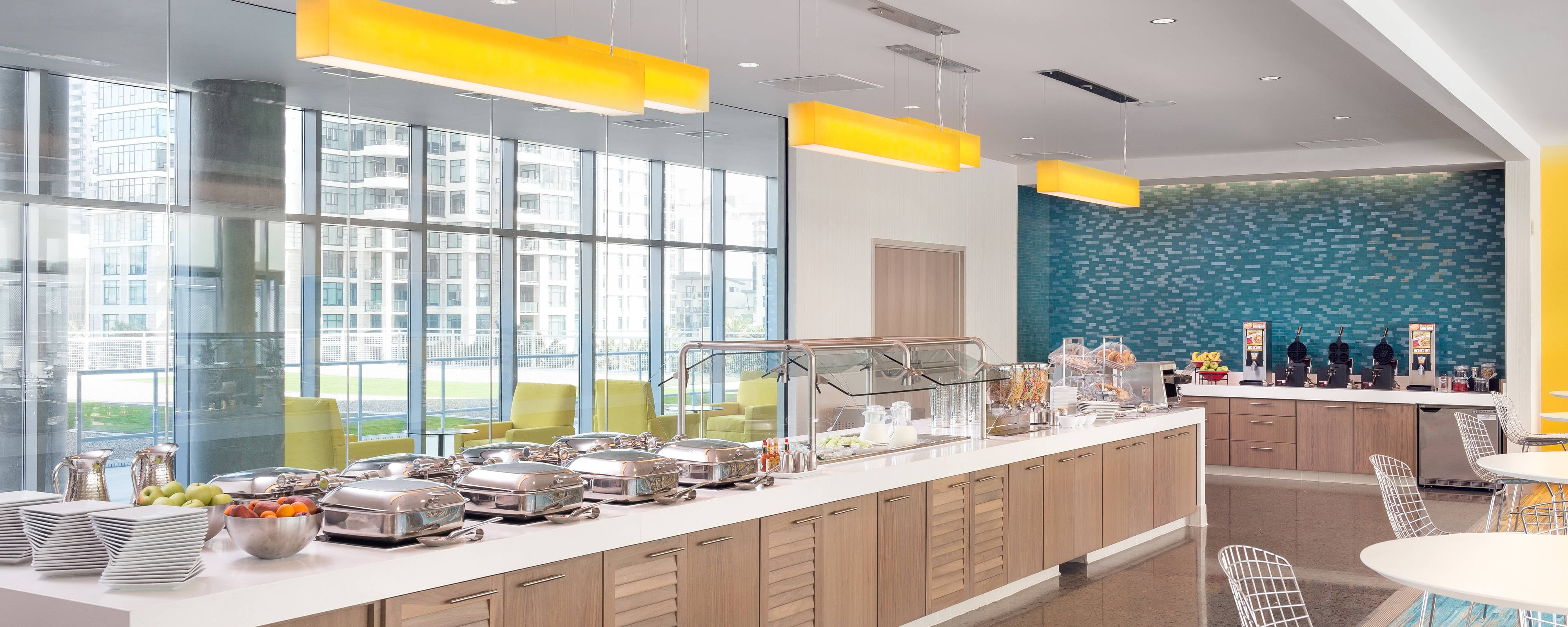 Free Hotel Breakfast Springhill Suites San Diego Downtown