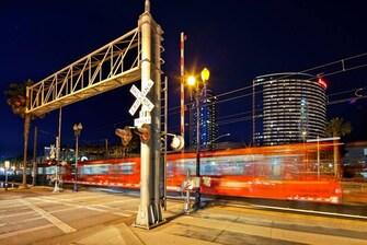 San Diego Train Stop