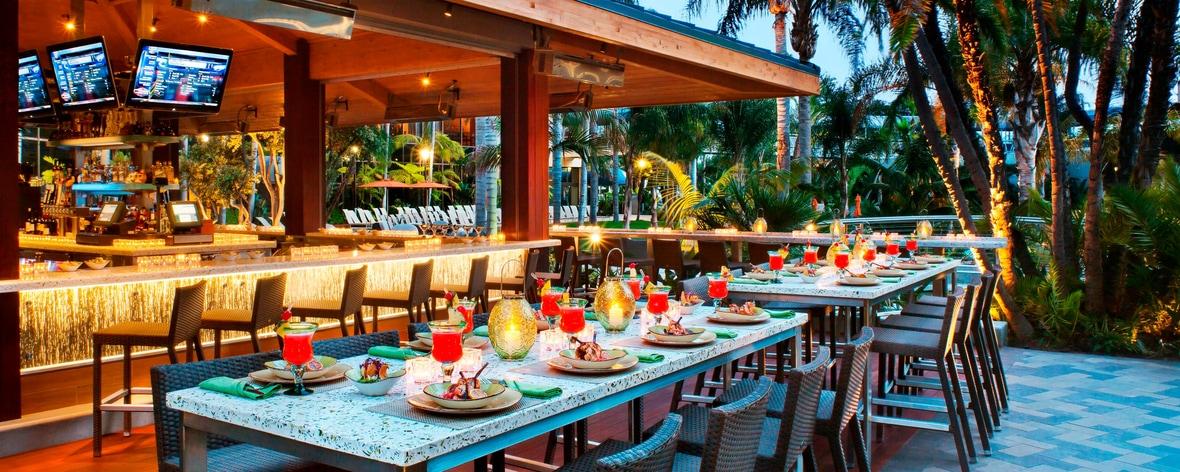 Restaurantes al aire libre en San Diego