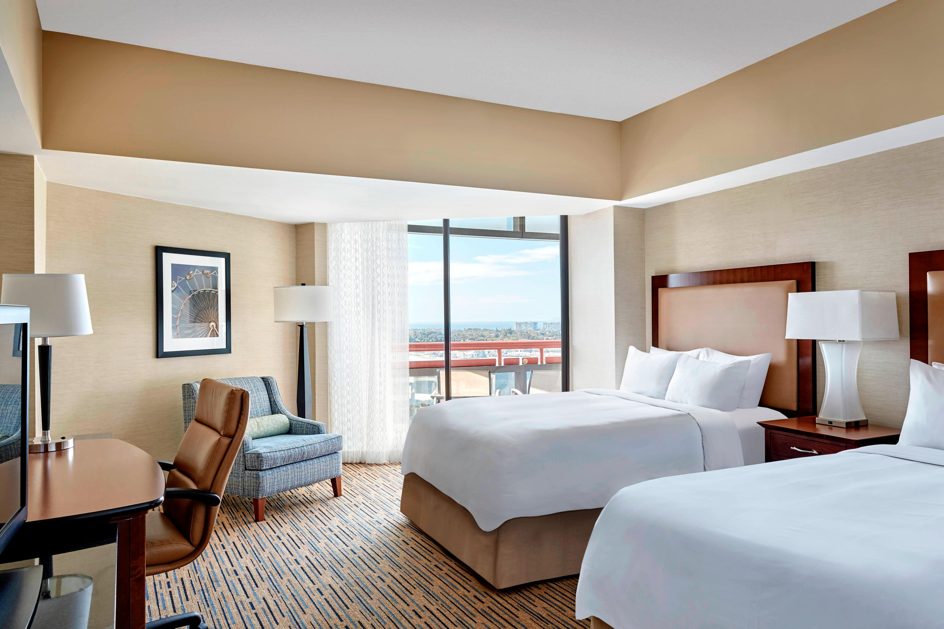 North Tower Double/Double Guest Room