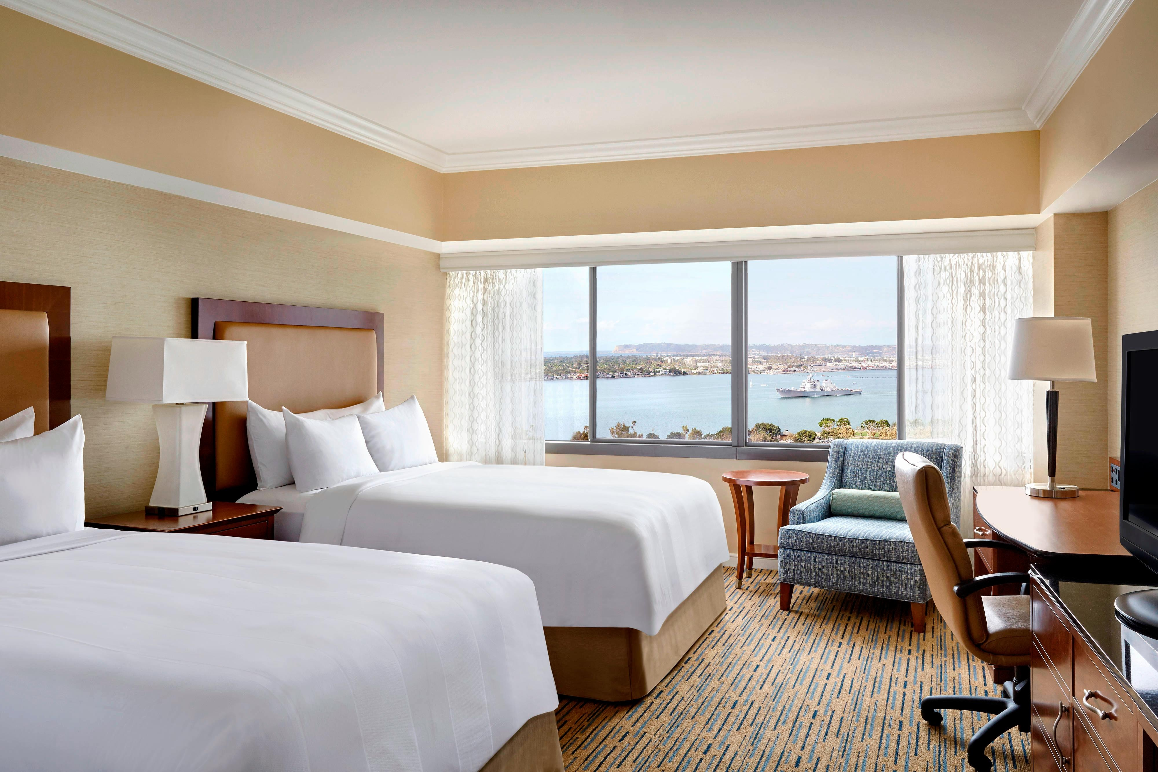 South Tower Double/Double Guest Room