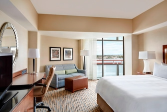 North Tower King Guest Room