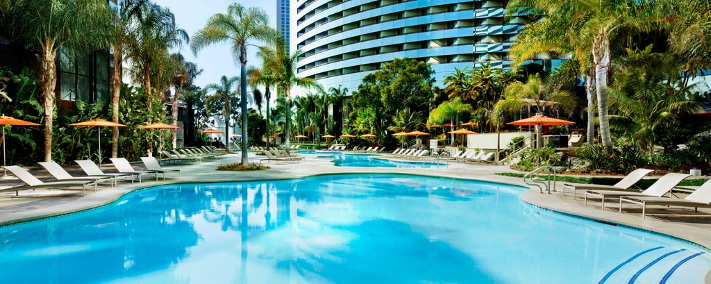 Downtown San Diego Hotel With Pools Marriott Marquis San Diego Marina