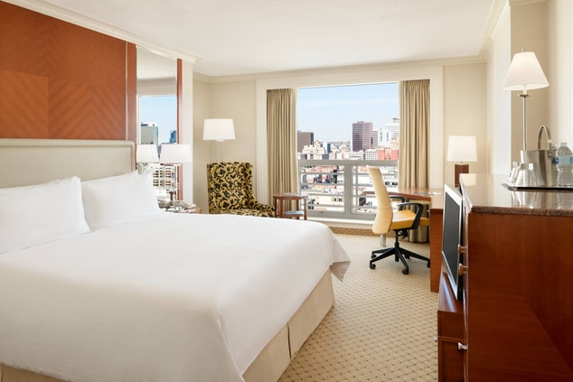 View of King Guest Room with City View
