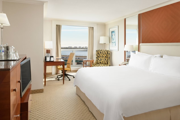 View of King Guest Room with Water View