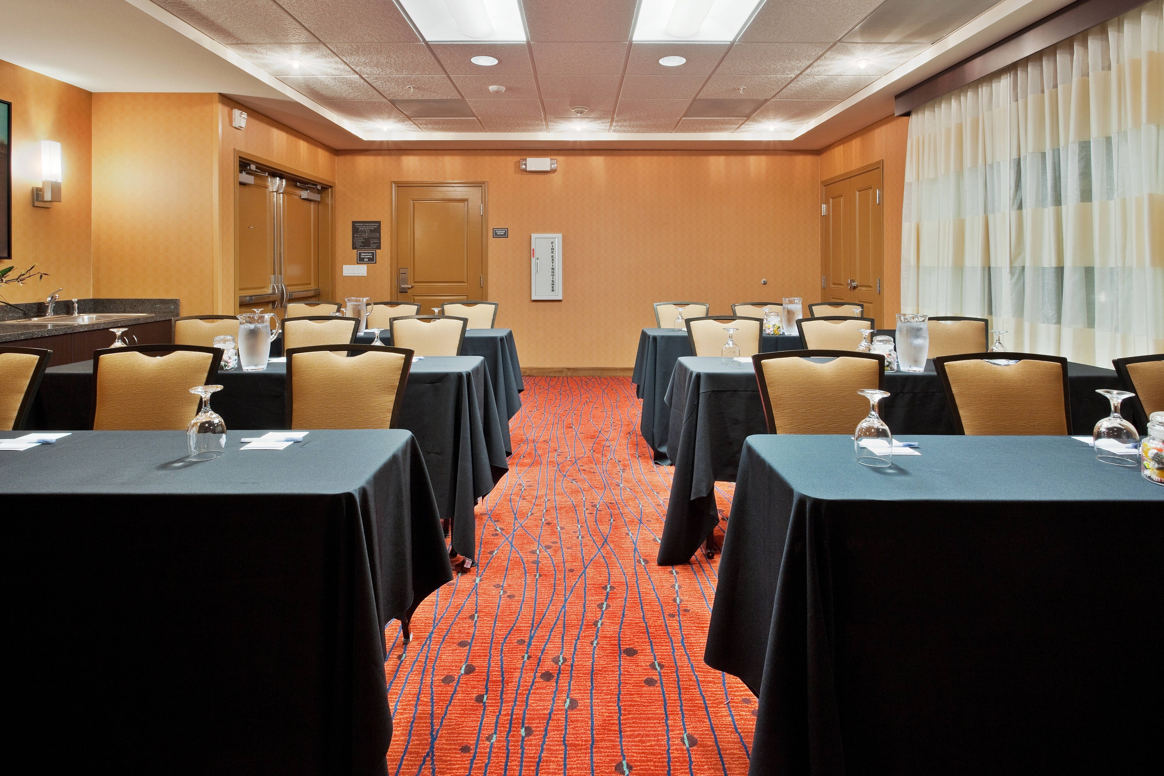San Marcos hotel meeting room