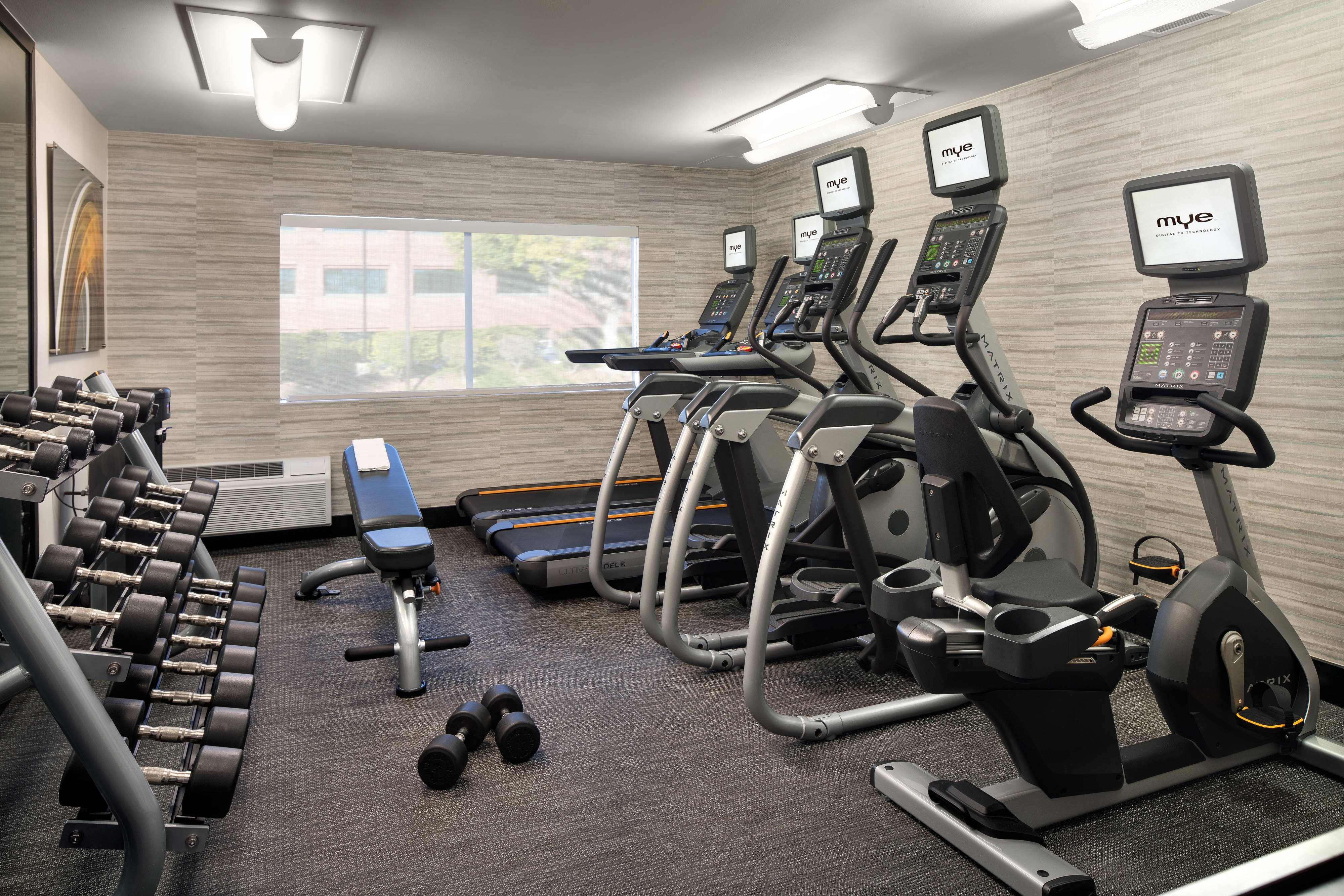 Fitness Center San Diego Hotel