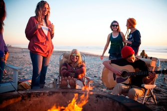 Oceanside Beach Fire Pits
