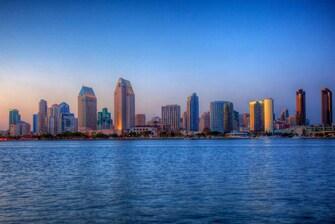 Visite el centro de San Diego