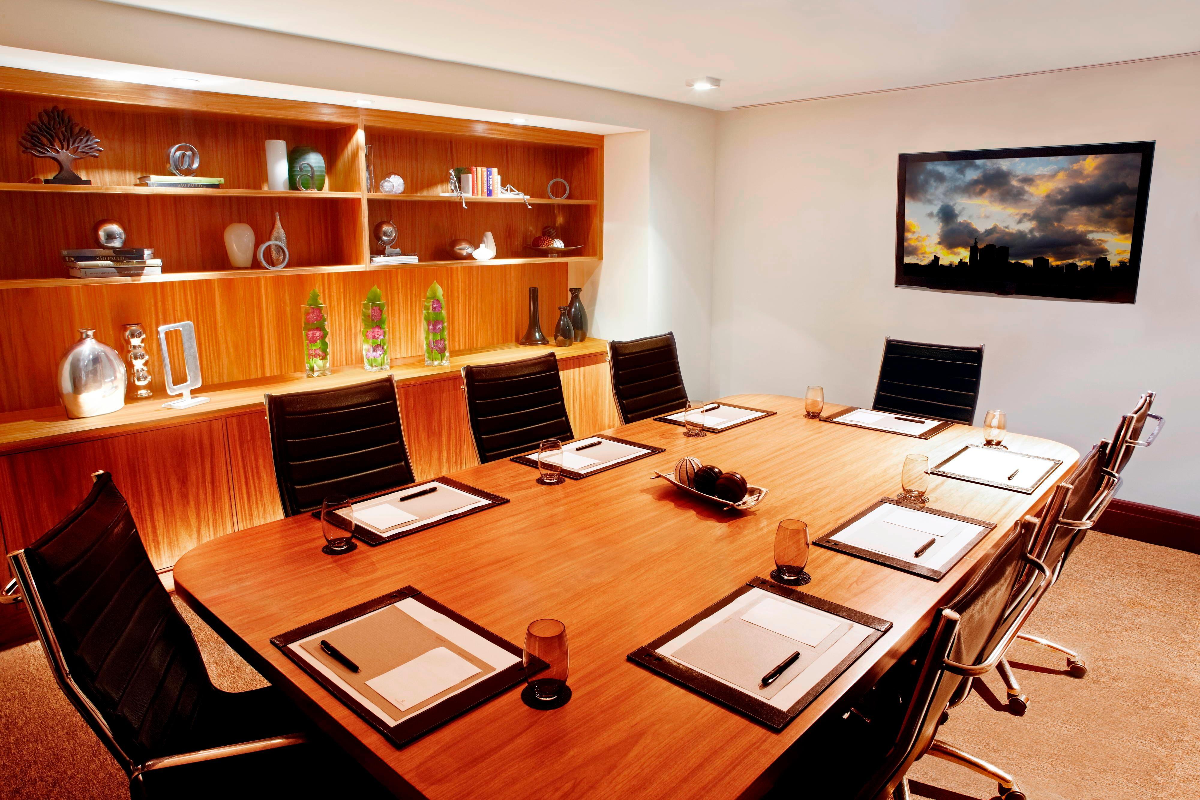 Sala de diretoria do business center