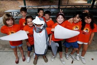 Día de acampada en SeaWorld San Antonio