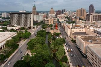 San Antonio Texas Hotel Room