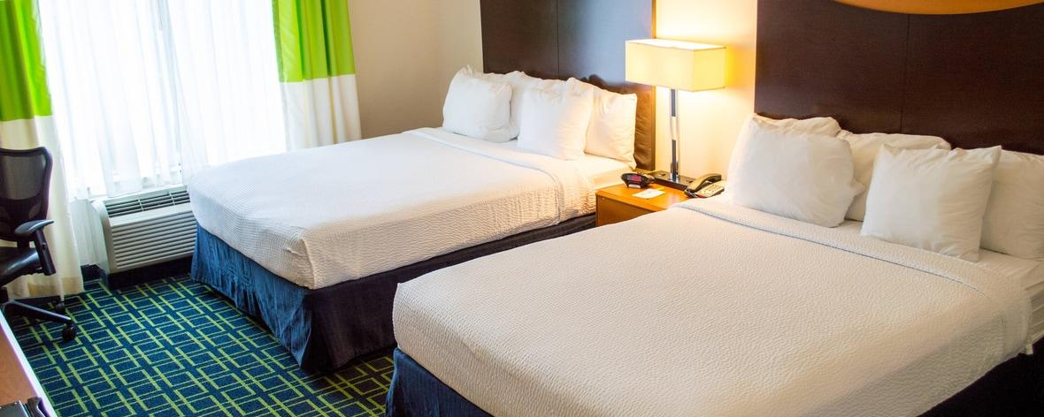 San Antonio Hotel Queen/Queen Guest Rooms