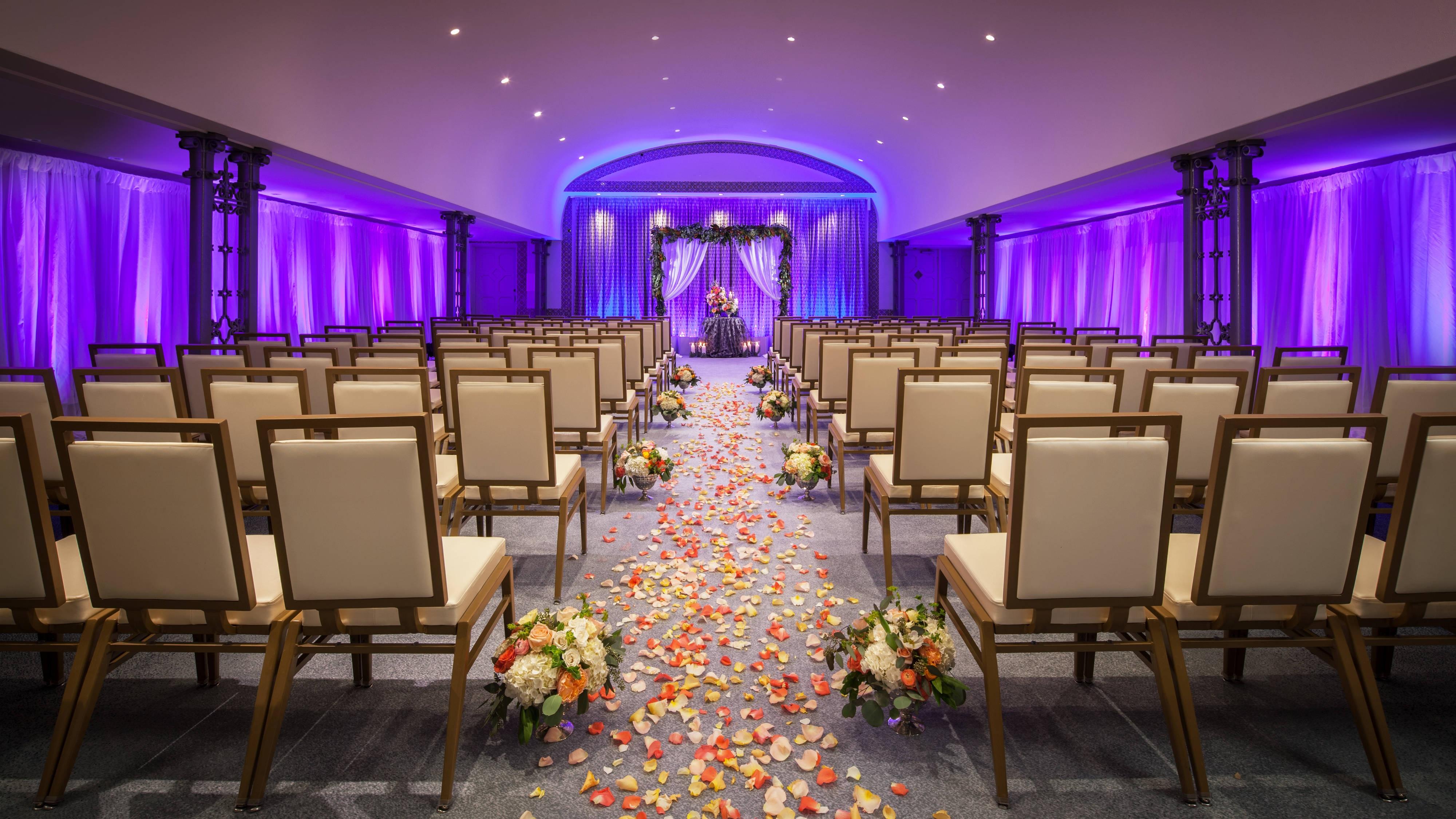 cavalier Wedding ceremony