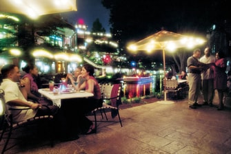 Restaurantes en Riverwalk