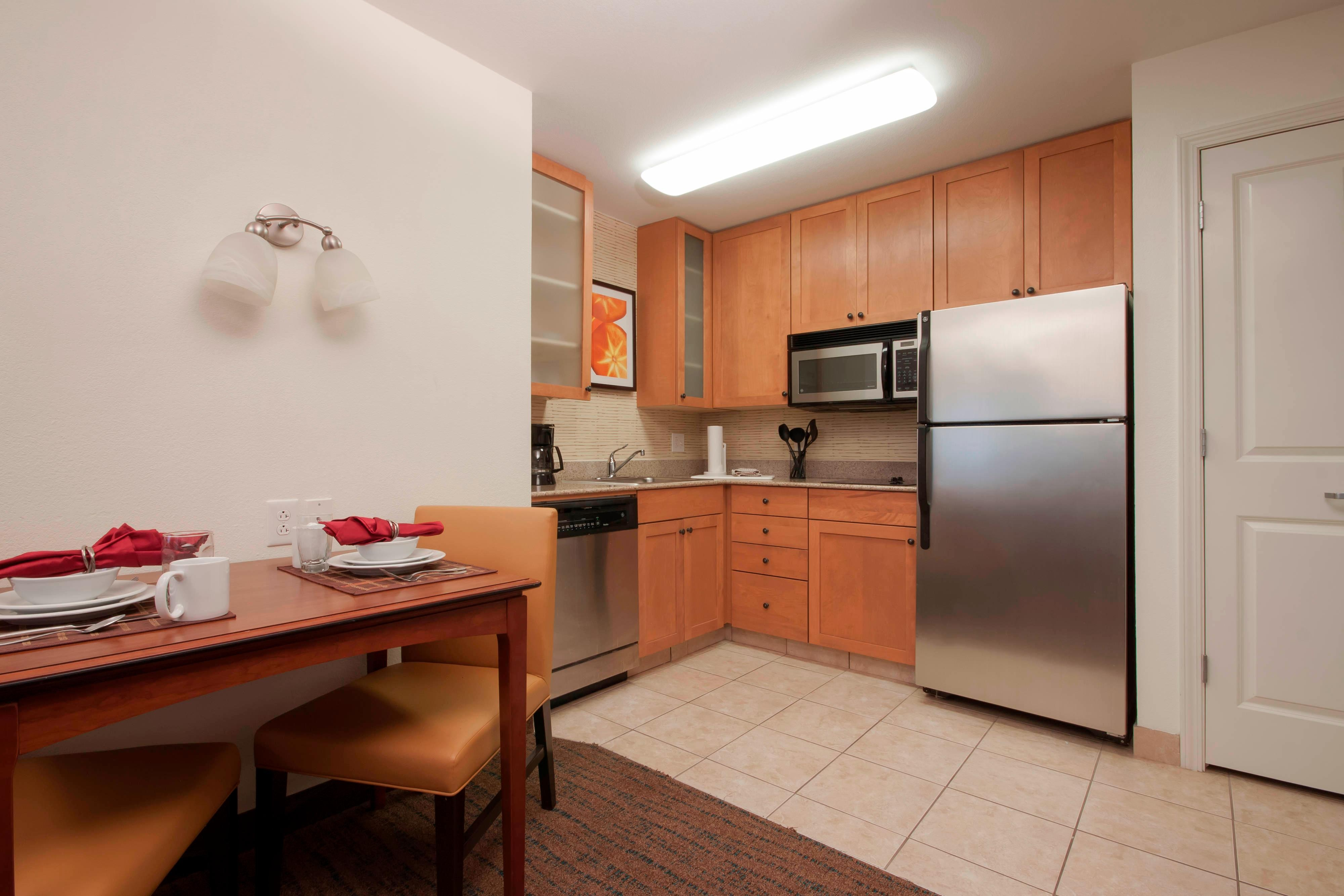San Antonio Hotel Studio Kitchen