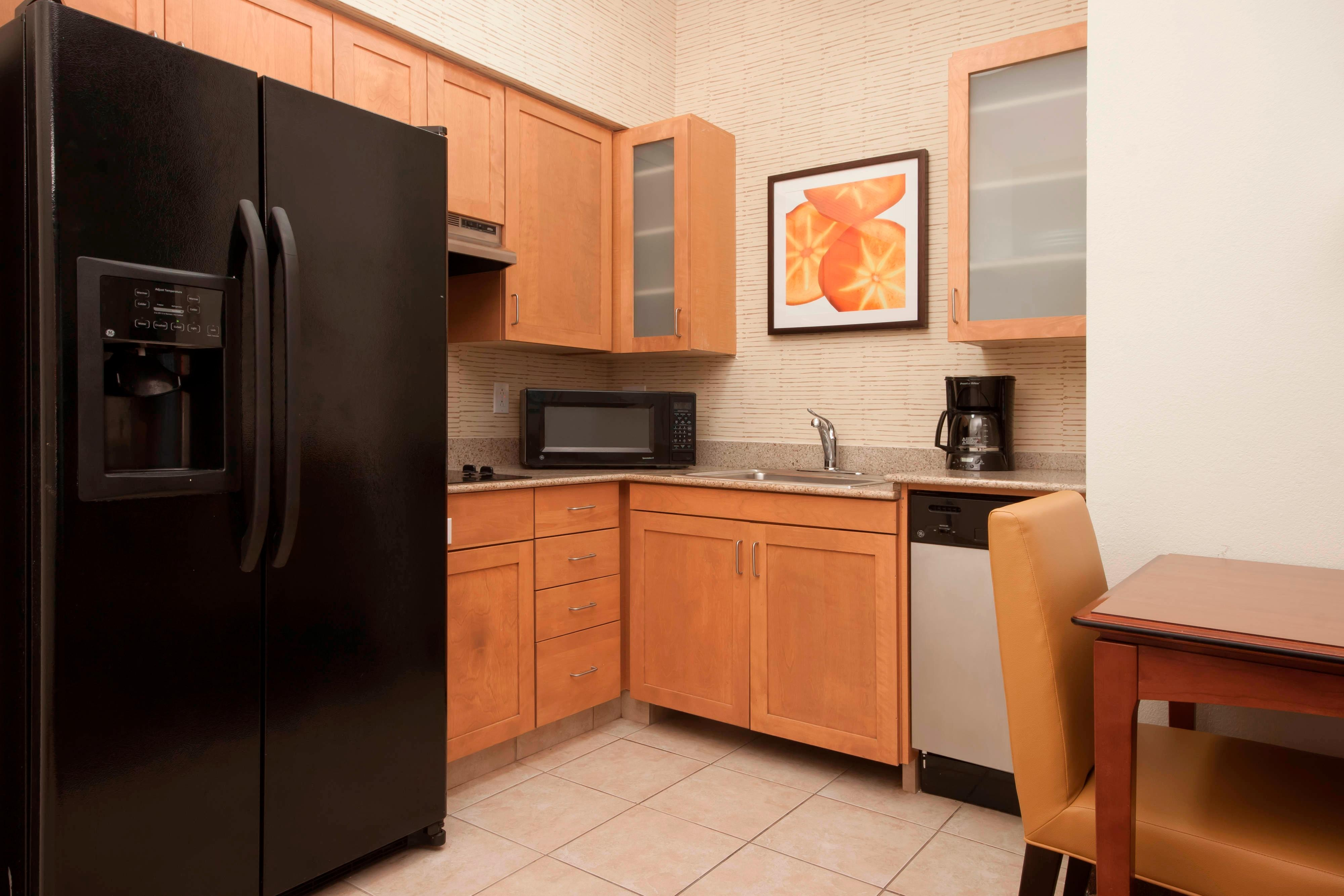 San Antonio Hotel Suite Kitchen