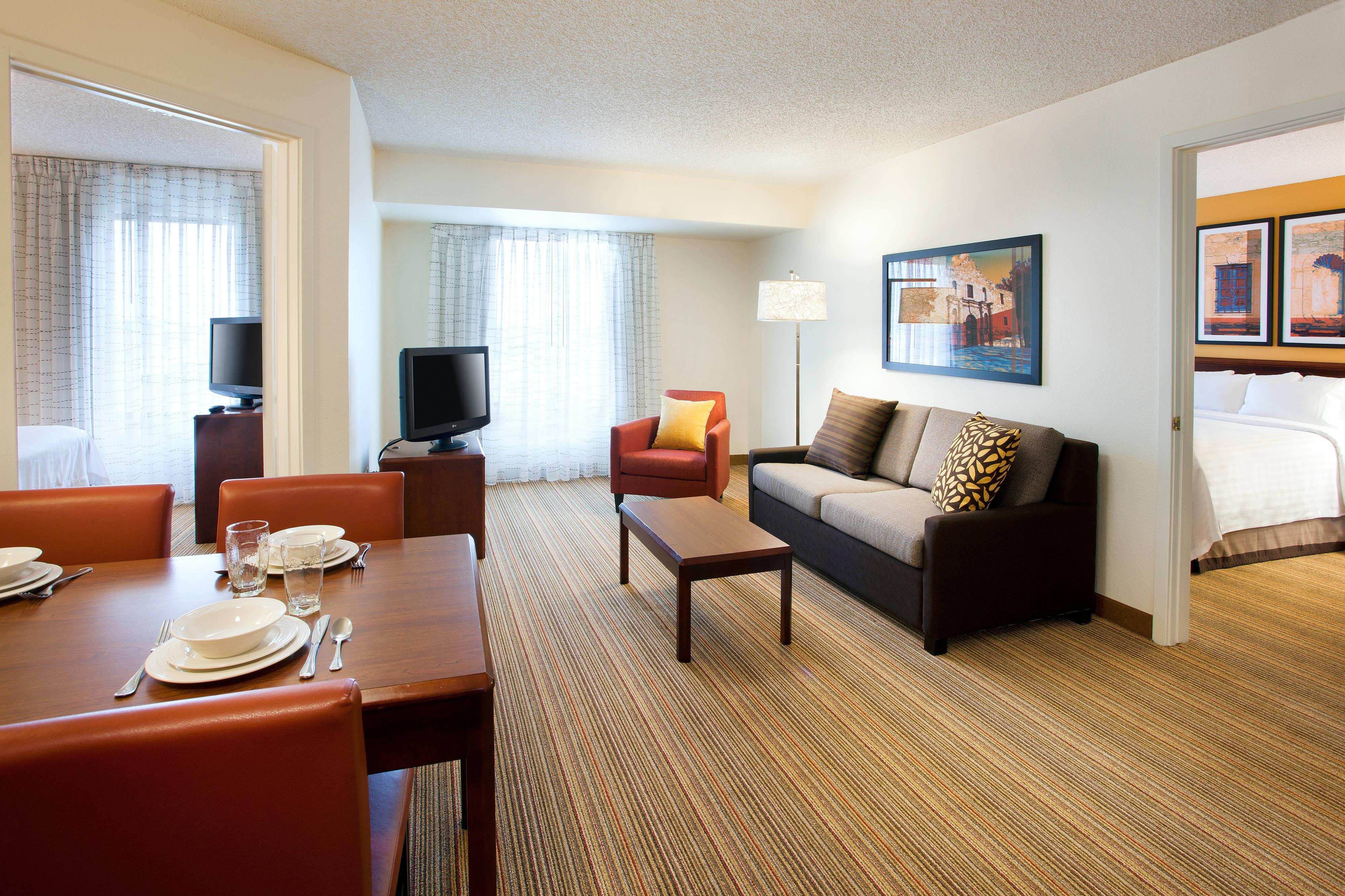 Marriott two bedroom suite